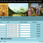 The Burlington Magazine : un index en ligne