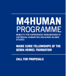 Appel  candidature : &laquo;&nbsp;Marie Curie Fellowships of the Gerda Henkel Foundation&nbsp;&raquo;