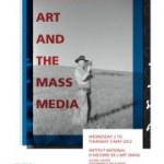 Colloque  : &laquo;&nbsp;American Art and the Mass Media
