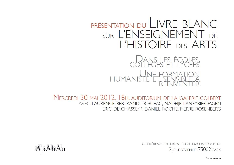 Conference De Presse Presentation Du Livre Blanc De L Apahau Sur L