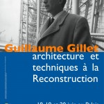 Journes d&#8217;tude :  Guillaume Gillet, architecture et techniques  la Reconstruction 