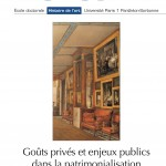 Parution :  Histo.art n4, Gots privs et enjeux publics dans la patrimonialisation XVIIIe-XXIe sicle 