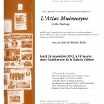 Prsentation publique de l&#8217;dition de LAtlas Mnmosyne dAby Warburg