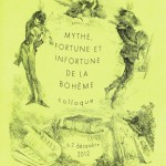 Colloque : &laquo;&nbsp;Mythe, fortune et infortune de la bohme&nbsp;&raquo;