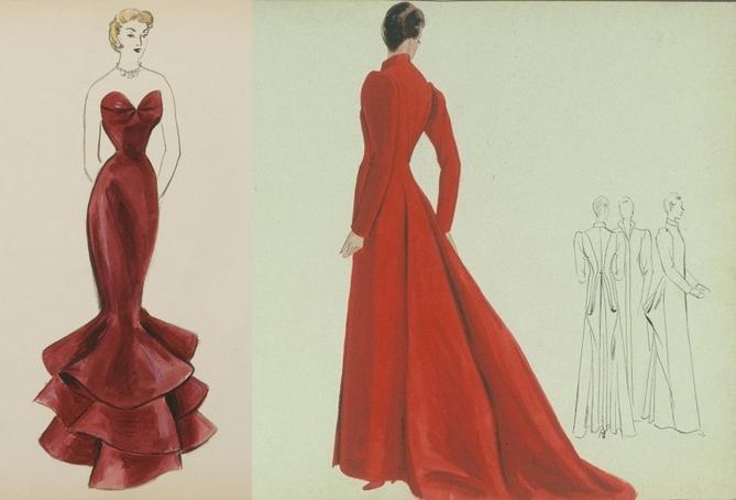S minaire architecture de la mode 1850 1950 paris - Dessin de couture ...