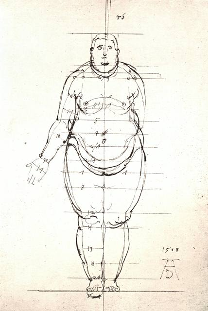 Homme Obese - Vectoriels