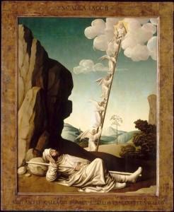 Nicolas Dipre, Le songe de_Jacob, c.1500, Avignon, Petit Palais