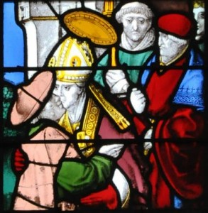 Arnoult de Nimègue, Vie de saint Martin, vers 1500, Rouen, Abbatiale Saint Ouen, collatéral nord