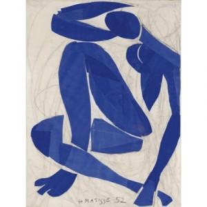 Matisse, Nu bleu IV, 1952