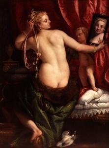 Veronese, Venus au miroir
