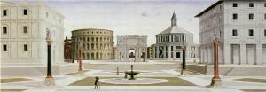 Ville idéale, 1470-1480, Tempera on panel Baltimore, Walters Art Gallery