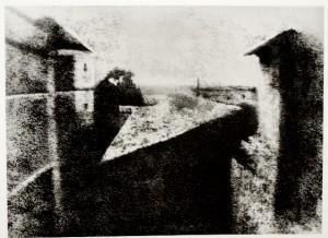 Nicéphore Niepce, Vue de la fenêtre, 1826