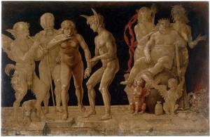 Andrea Mantegna, Allégorie du Vice et de la Vertu, 1490, Londres, British Museum