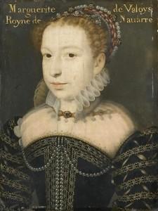François Clouet, Marguerite de Valois, reine de Navarre, XVIe siècle, Chantilly, musée Condé