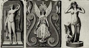 Jean-Baptiste Séroux-D'Agincourt, da Recueil de fragments de sculpture antique en terre cuite, Paris, 1814, planche 10