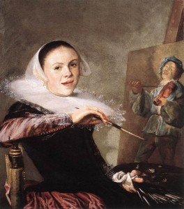 Judith Leyster, Autoportrait, 1630, H:T, Washington, National Gallery of Art