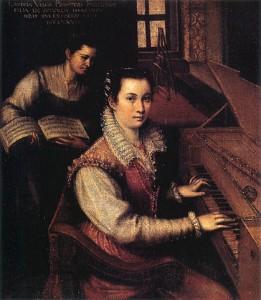 Lavinia Fontana, Autoportrait avec une servante, 1577, Accademia Nazionale di San Luca