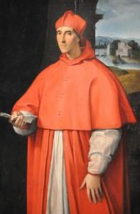 Raffaello Sanzio - Rittrato des cardinale Alessandro Farnese (15