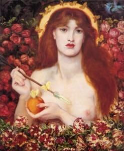 Dante Gabriel Rossetti, Venus Verticordia, 1868