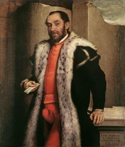 Giovanni Battista Giovanni Battista Moroni - Portrait d'Antonio Navagero, 1565