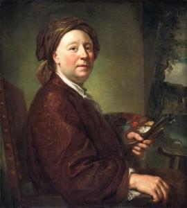 Anton Raphael MENGS, Richard Wilson, c. 1752, Cardiff