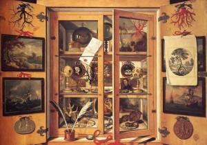 Domenico Remps, Cabinet de curiosités, XVIIe siècle, Florence