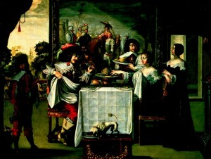 Histoire de l'art de la table Bosse Le Gout