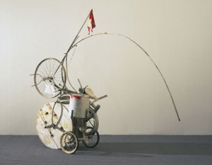 Jean Tinguely, Fragment d'un hommage à New York, 1960, New York, MOMA.