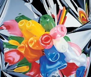 Jeff Koons, Tulips, 1995-98