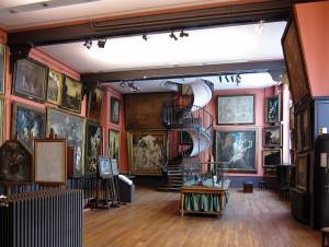 Visuel l'atelier d'artiste en perspective - Gamboni_03_Musée Gustave Moreau_HD