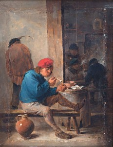 David Teniers Le jeune, Scène de taverne, 1640,  Stockholm