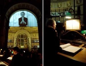 Exposition Sophie Calle ; commissaire Daniel Buren, Paris, BNF, 2008