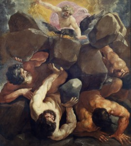 Guido RENI, La Chute des géants, 1637
