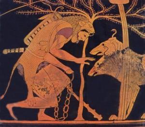 Héraclès et Cerbère