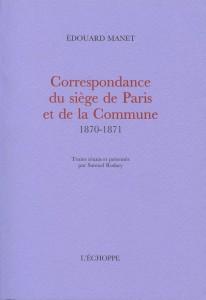 correspondance Manet