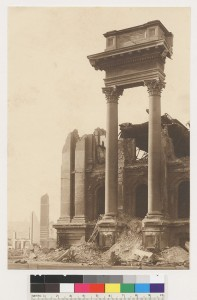 ruins of city hall 1906 bancroft library2