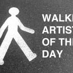 walkingartistoftheday