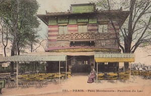 Fig. 4. Parc Montsouris, Pavillon du Lac, vers 1900, carte postale, Collection particulière.