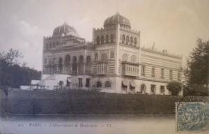 Fig. 7. Parc Montsouris, le Palais du Bardo, vers 1900, carte postale, Série 8 Fi (cartes postales anciennes), vol. 1, p. 69, Archives de Paris.