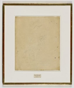 De Kooning, Erased, 1953, dessin