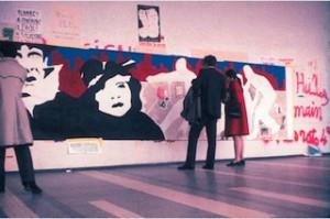 Ivan Messac, fresque sur papier, Université de Nanterre, 1969