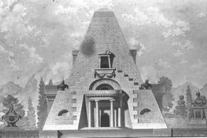 Louis Gustave Taraval, Monument funéraire, XVIIIe siècle, ENSBA