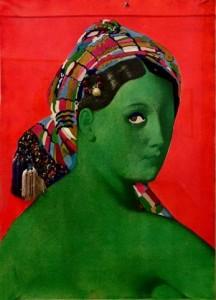 Martial Raysse-Made in Japan - La grande odalisque, 1964