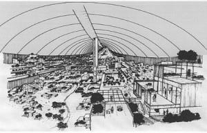 Projet de ville spatiale de la Nasa, 1957