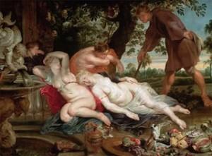 Rubens, Cimon et Iphigénie, vers 1617, Vienne