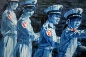 Sheng Qi, 'Mao's Army', 2008, acrylique sur toile, 80x120cm