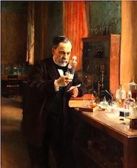 Albert Edelfelt, portrait de Louis Pasteur, 188