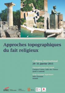 Affiche colloque Paris fait religieux