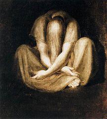 Johann Heinrich Füssli, Silence, 1799-1801, Zurich
