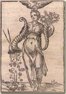 Cesare Ripa, Allégorie de la Libéralité, Iconologia, 1603